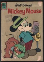 Mickey Mouse comic # 77 Dell 1961